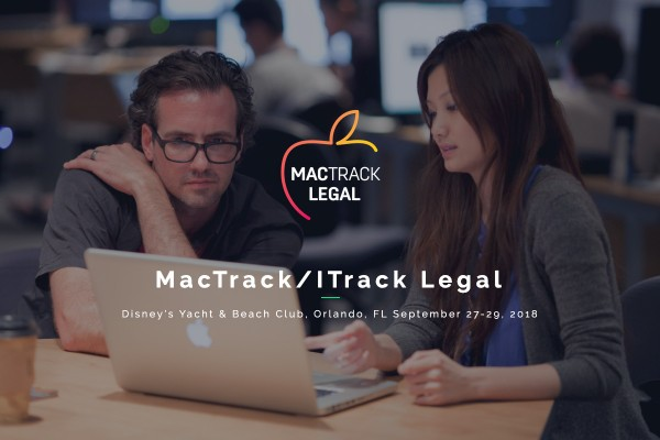 Come see us at MacTrack Legal 2018